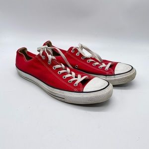 Converse Chuck Taylor All Star Ox Core Red Mens 13